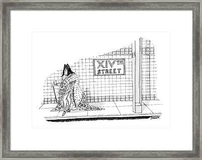 New Yorker September 23rd, 1985 Framed Print by Jack Ziegler