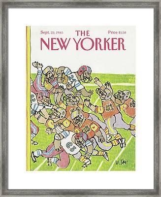 New Yorker September 23rd, 1985 Framed Print