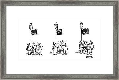 New Yorker September 23rd, 1996 Framed Print