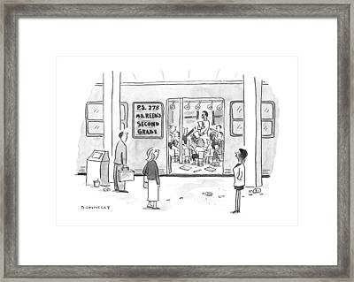 New Yorker September 23rd, 1996 Framed Print by Liza Donnelly