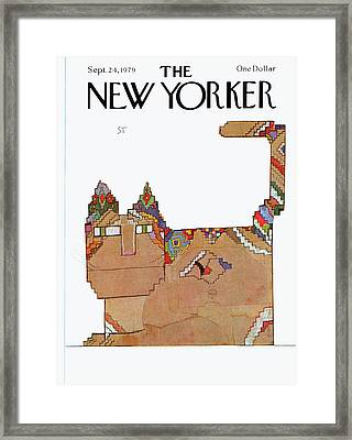 New Yorker September 24th, 1979 Framed Print
