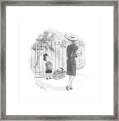 New Yorker September 25th, 1943 Framed Print