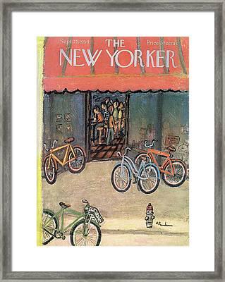 New Yorker September 25th, 1954 Framed Print