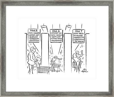 New Yorker September 26th, 1988 Framed Print by Ed Fisher
