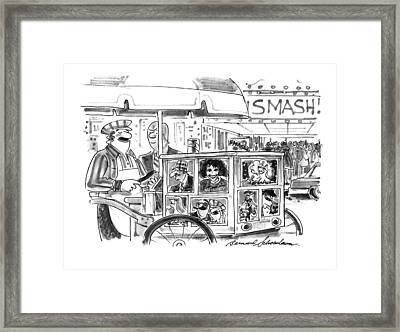 New Yorker September 27th, 1993 Framed Print by Bernard Schoenbaum