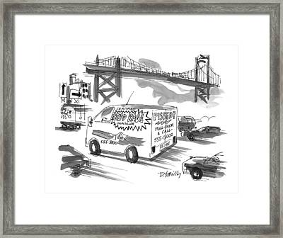 New Yorker September 27th, 1999 Framed Print by Donald Reilly