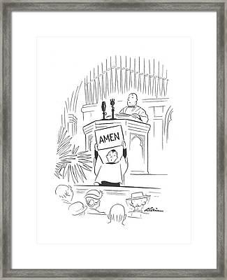New Yorker September 28th, 1940 Framed Print
