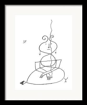Strapless Drawings Framed Prints