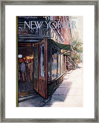 New Yorker September 29th, 1956 Framed Print by Arthur Getz