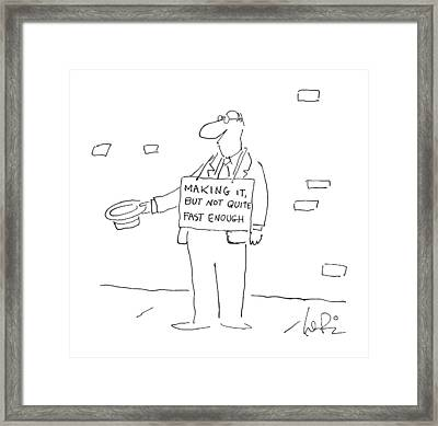 New Yorker September 29th, 1986 Framed Print