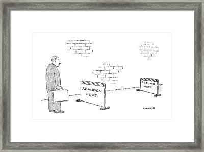 New Yorker September 3rd, 1990 Framed Print
