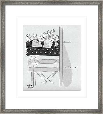 New Yorker September 4th, 1943 Framed Print by Chon Day
