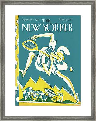 New Yorker September 5th, 1925 Framed Print by James Daugherty