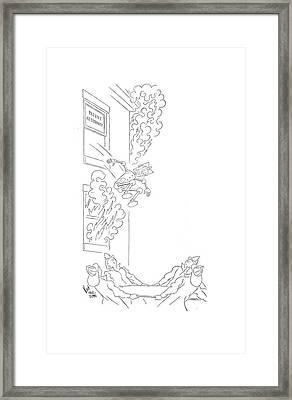 New Yorker September 5th, 1942 Framed Print by Ned Hilton