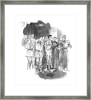 New Yorker September 5th, 1942 Framed Print by Perry Barlow