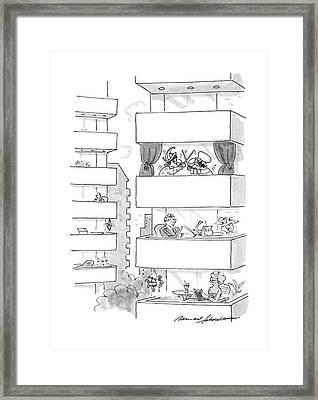 New Yorker September 5th, 1988 Framed Print
