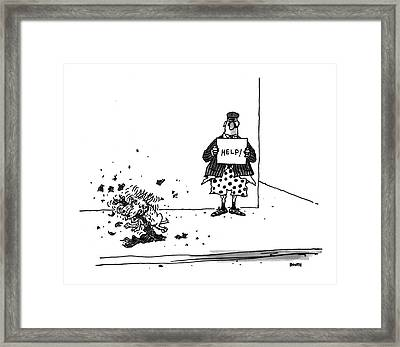 New Yorker September 6th, 1993 Framed Print by George Boot