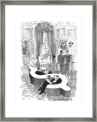 New Yorker September 6th, 1999 Framed Print