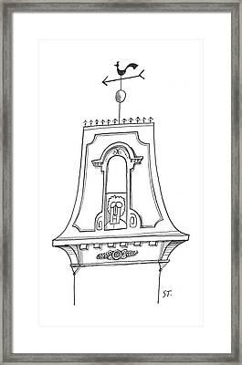 New Yorker September 7th, 1957 Framed Print