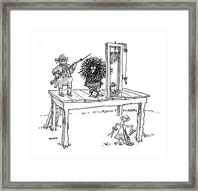 New Yorker September 7th, 1998 Framed Print by George Booth