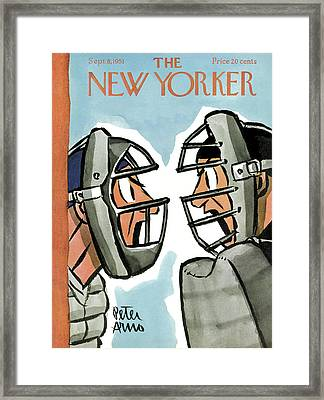 New Yorker September 8th, 1951 Framed Print by Peter Arno