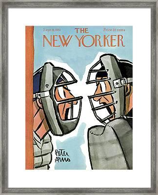 New Yorker September 8th, 1951 Framed Print