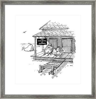 New Yorker September 8th, 1986 Framed Print