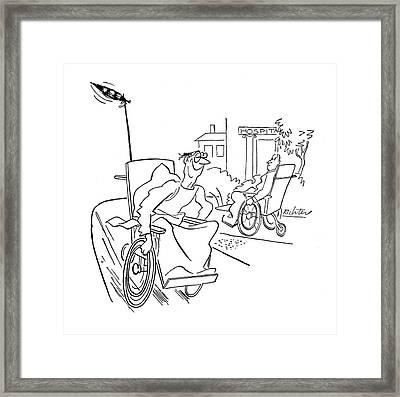 New Yorker September 9th, 1944 Framed Print
