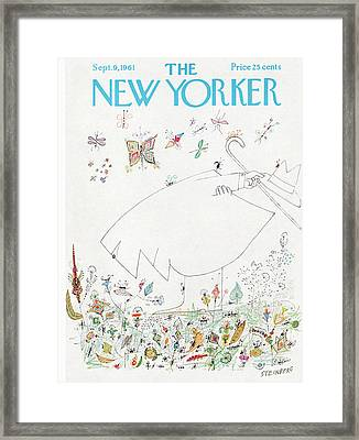 New Yorker September 9th, 1961 Framed Print