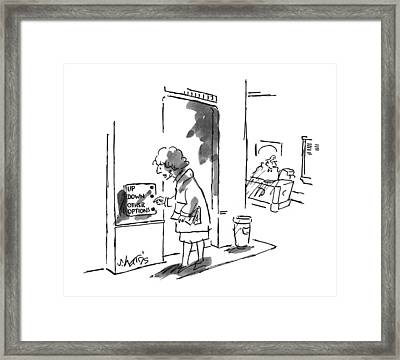 New Yorker September 9th, 1996 Framed Print