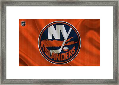 New Yorkislanders Framed Print by Joe Hamilton