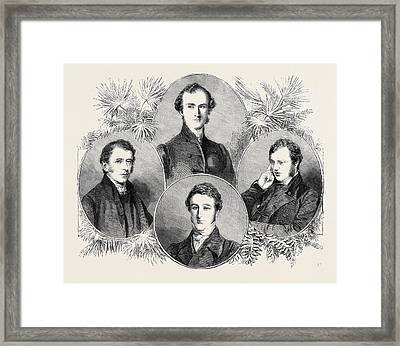 New Zealand Bishops The Right Rev. W. Williams D.d. Lord Framed Print