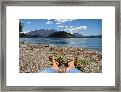 New Zealand Christmas Framed Print