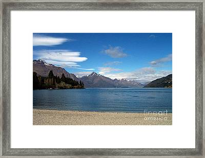 New Zealand Fjord Framed Print