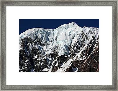 New Zealand Mountains Framed Print by Amanda Stadther