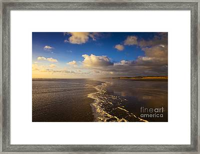New Zealand Ninety Mile Beach Framed Print by Colin and Linda McKie