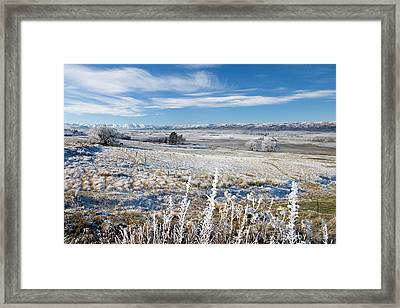 New Zealand, South Island, Central Framed Print