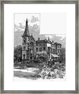Newark Kearny Mansion Framed Print by Granger
