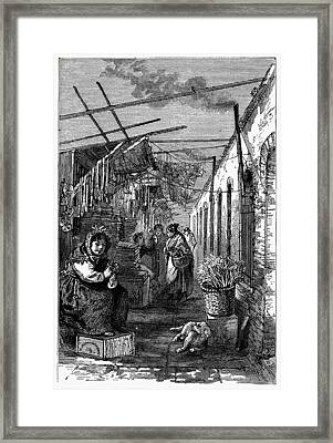 Newark Market, 1876 Framed Print by Granger