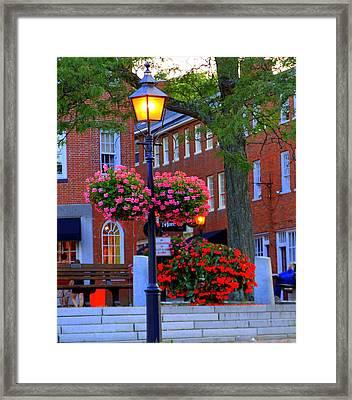 Newburyport Light Framed Print