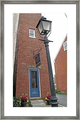 Newburyport Range Light Front Framed Print by Barbara McDevitt
