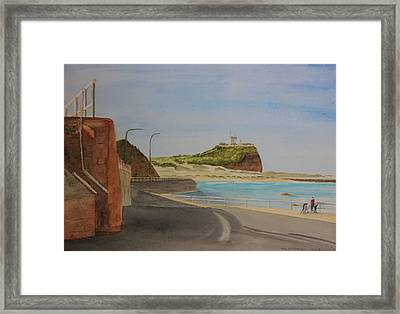 Newcastle Nsw Australia Framed Print by Tim Mullaney