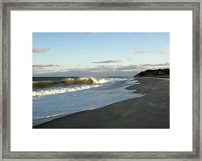 Newcomb Hollow Beach Framed Print by Baratz Tom