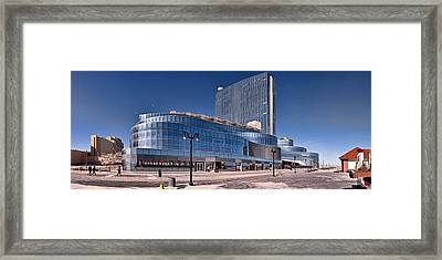 Newest Revel Casino At Atlantic City Framed Print by Panoramic Images