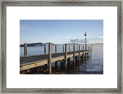 Newfound Lake -  Bristol New Hampshire Framed Print by Erin Paul Donovan
