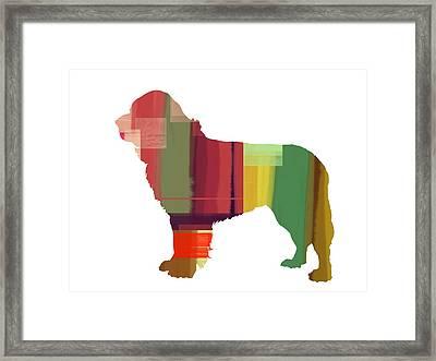 Newfoundland Framed Print by Naxart Studio