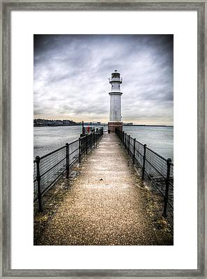 Newhaven Lighthouse Framed Print