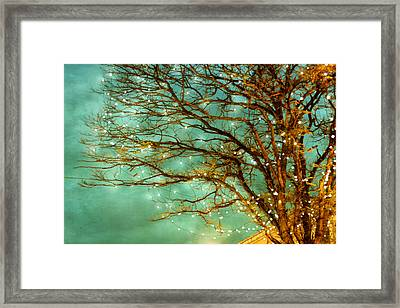 Newly Magical 02 Framed Print by Violet Gray