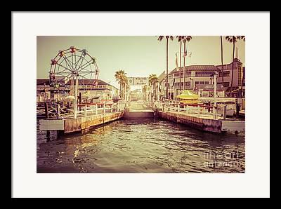 Balboa Peninsula Framed Prints