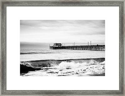 Newport Beach Pier Framed Print
